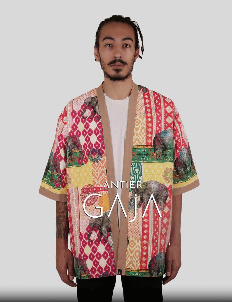 GAJA Kimono Erkek Kimono Kadın Kimono Etnik Kimono Kimono Ceket Japon Kimono Kimono Modelleri Uzun Kimono
